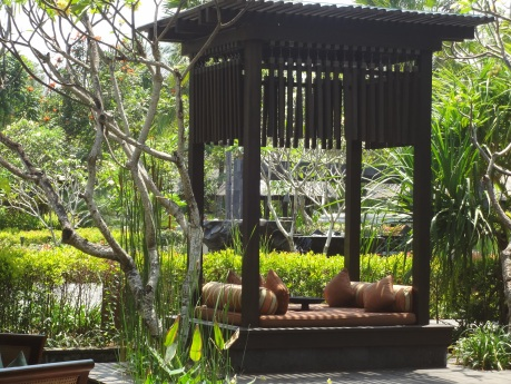 Many small pavilions are located through out the garden.