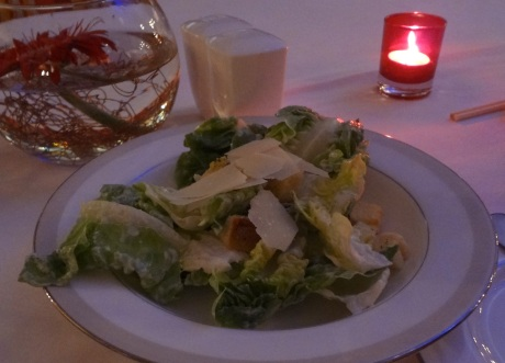 Standard issue Caesar salad, Good cheese though.