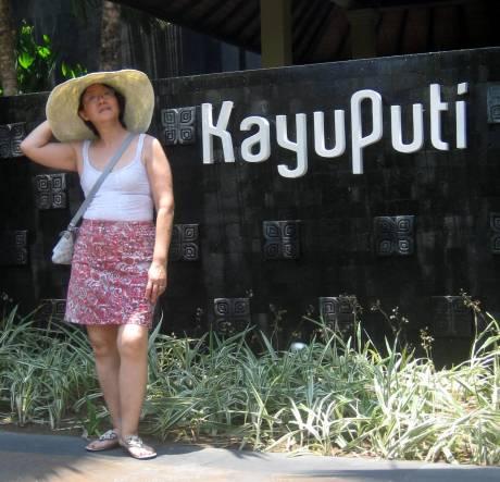 At Kayuputi.