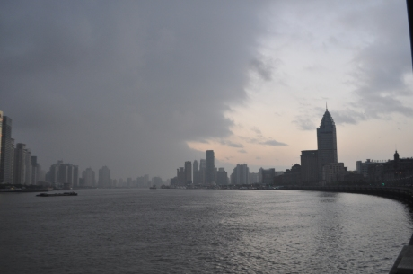 Looking south from The Bund, Shanghai.