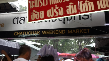 Time to say goodbye to Chatuchak Weekend Market.