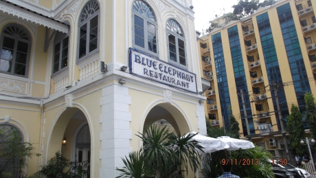 Blue Elephant Restaurant, Bangkok, Thailand.
