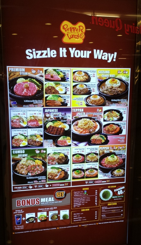 Couldn't believe this restaurant offered so many varieties on sizzling plates.