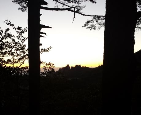 T - 7:36 to sunrise