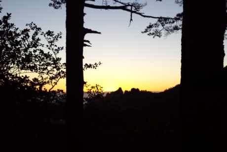 T -1:54 to sunrise