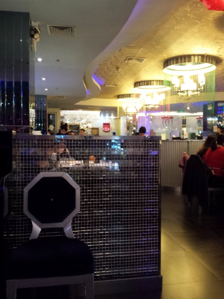 Nicely decorated。Very busy。We had to wait for 35 minutes。There were six parties before us。