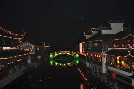 七寶老街夜景