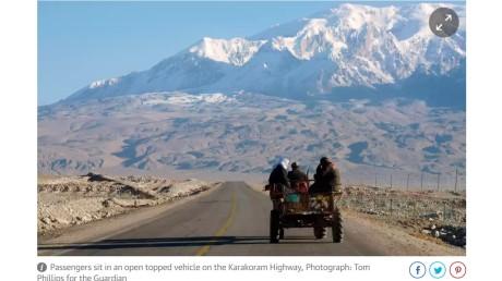 Tashkurgan mountain scene